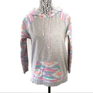 Neff southwestern design hooded sweatshirt medium